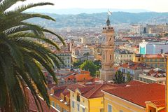 Nice old town, France Royalty Free Stock Images