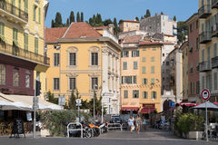 Nice old town, France royalty free stock photo