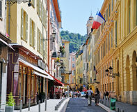 Nice old town, France Royalty Free Stock Image