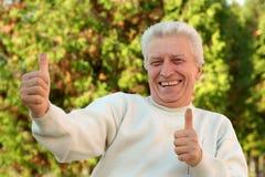Nice older man Stock Images