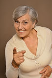 Nice Older woman Royalty Free Stock Photos