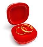 Nice opened gift box Royalty Free Stock Image