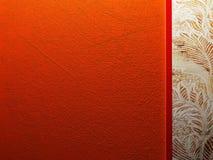 Nice orange old texture Stock Photography