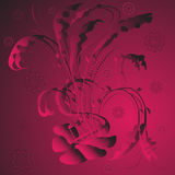 Beatiful ornament. Simple illustranion web design stock illustration