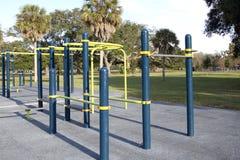 Nice outdoor sport ground in the park. Nice outdoor sport ground in the  park Royalty Free Stock Photo