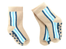 Nice pair of child's  socks Stock Photography