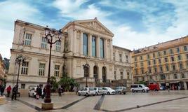 Nice - Palais DE Justice royalty-vrije stock afbeeldingen