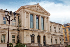 Nice - Palais de Justice Royalty Free Stock Photography