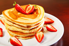 Nice Pancakes Stock Photo