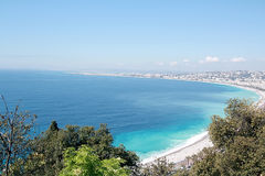 Nice panorama (France) Stock Images