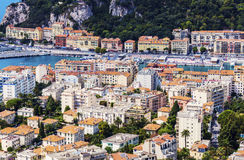 Nice panorama seen from Mt Boron Royalty Free Stock Image