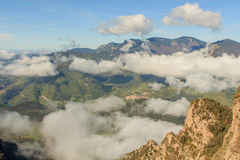 Nice panorama from the top of the Sobrepuny Royalty Free Stock Photography