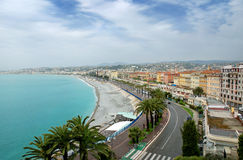 Nice - Panoramic view Royalty Free Stock Images