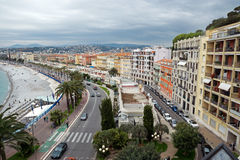 Nice - Panoramic view Royalty Free Stock Photo
