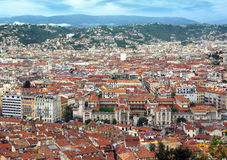 Nice - Panoramic view Royalty Free Stock Photography