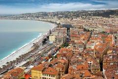 Nice - Panoramic view Royalty Free Stock Photo