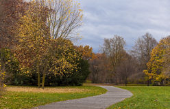 Nice park in autumn Stock Photography