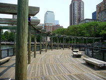 A nice pergola. In Battery Park Manhattan Stock Photography