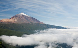 Nice photo of Teide Stock Image