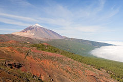 Nice photo of Teide Royalty Free Stock Photos
