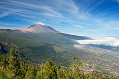 Nice photo of Teide. Spanish inactive volcano Royalty Free Stock Photos