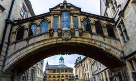 Oxford Bridge of Sighs. UK royalty free stock photo