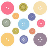 Nice picture with colored buttons. Vector Stock Images