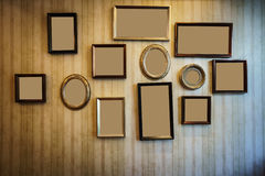 Nice picture frame Stock Photography