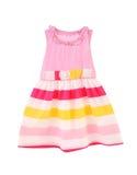 Nice pink dress for girls. Royalty Free Stock Photos