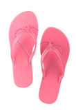 Nice pink slipper Stock Photography