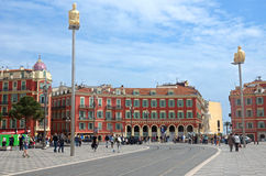 Nice - Place Massena Stock Image