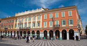 Nice - Place Massena Stock Photo