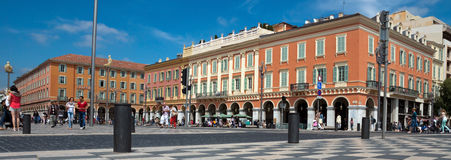Nice - Place Massena Stock Images