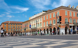 Nice - Place Massena Royalty Free Stock Photos
