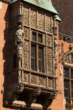 Nice polish architecture detail. Nice architecture in Wroclaw, Poland Stock Photography