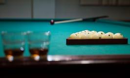 Nice pool game Royalty Free Stock Photos