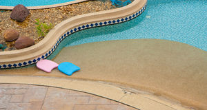 Nice pool Stock Photography
