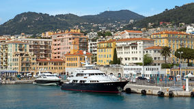 Nice - Port de Nice Royaltyfri Foto