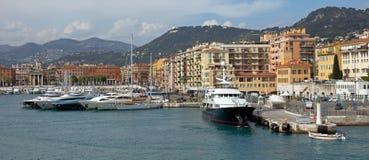 Nice - Port de Nice Arkivbild