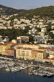 Nice Port in France Stock Photos