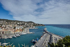 Nice, Port Limpia, France Stock Images