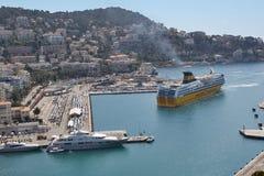 NICE, port Lympia Stock Photos