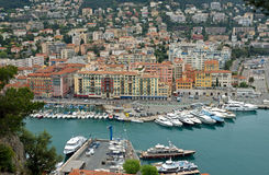 Nice - Port of Nice, Cote d'Azur, France Royalty Free Stock Photos