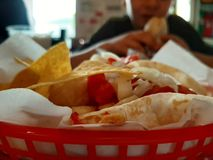 The best tacos in Budapest royalty free stock image