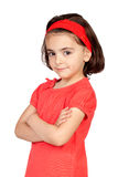 Nice portrait of beautiful girl royalty free stock photography