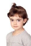 Nice portrait of beautiful girl Stock Photo