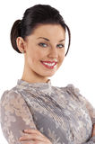 Nice portrait smiling woman Royalty Free Stock Image
