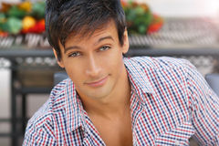 Nice portrait of young man Royalty Free Stock Photo