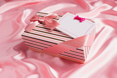 Nice present and best wish Royalty Free Stock Image