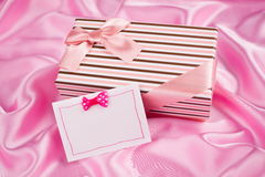 Nice present and best wish Royalty Free Stock Photography